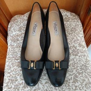 Italian full leather  low heels